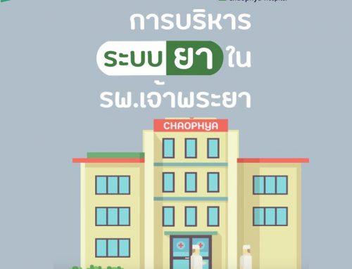 การบริหารจัดการระบบยาในโรงพยาบาลเจ้าพระยา