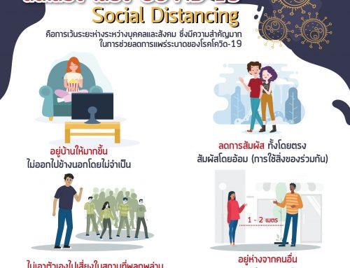 """มาตรการ """"Social Distancing"""""""